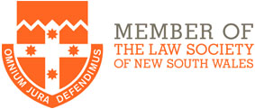 Member of the Law Society New South Wales